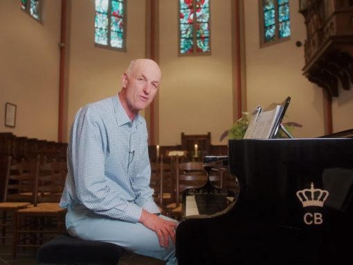 Jan Kortie in klooster Huissen tijdens een online mini retraite
